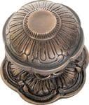 Centre Door Knob Antique Brass