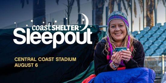 Coast Shelter Sleep Out 2021