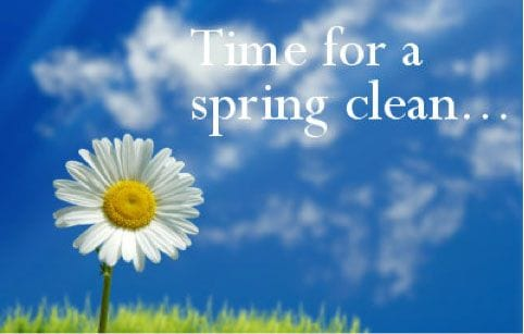 Spring clean your systems!