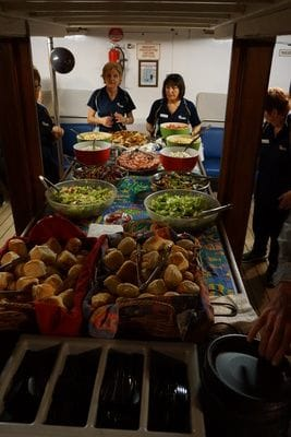 Brisbane Cruises Buffet and Function