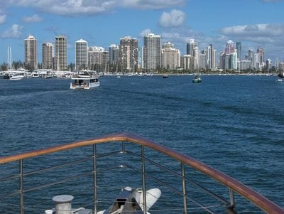 Brisbane to Gold Coast cruise