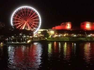 Brisbane Cruise at night