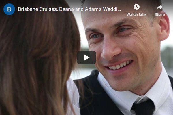 Weddings and special functions on Brisbane Cruises