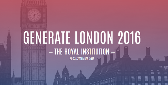 Revolutionize your Web Design Knowledge at the Generate Conference in London