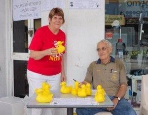 Ayre Rotary Club Annual Duck Race