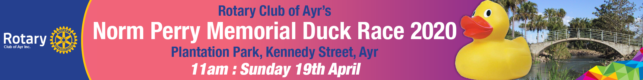 Ayr Duck Race 2020 Rotary