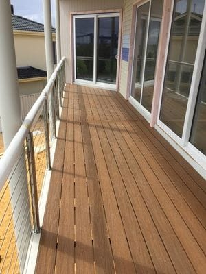 New Techwood Decking