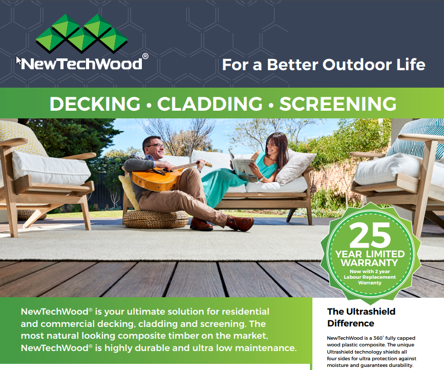 New Techwood Decking Product