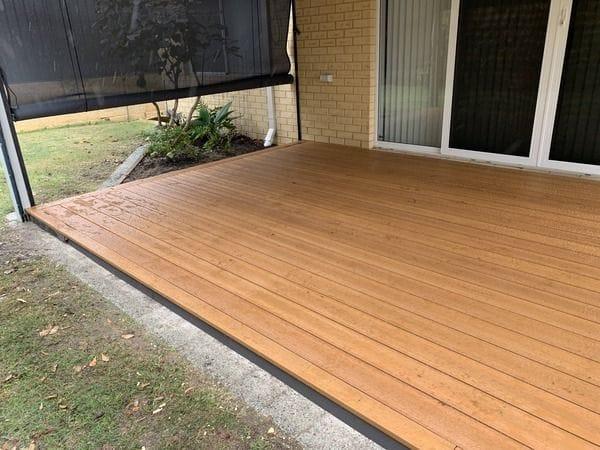 EvaLast Decking Boards (Koa Fire)