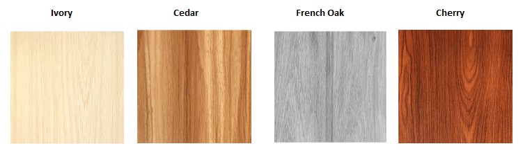 Ceiling Boards colours