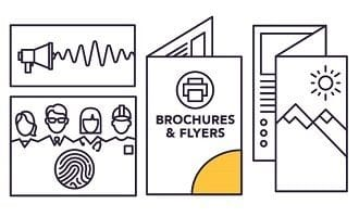 5 creative brochure design tactics customers can't resist
