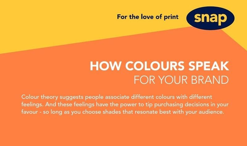 How colours speak for your brand