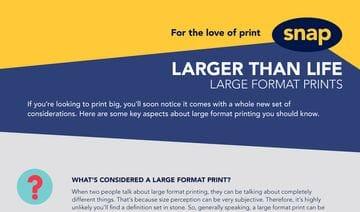 Larger than life: Large format prints