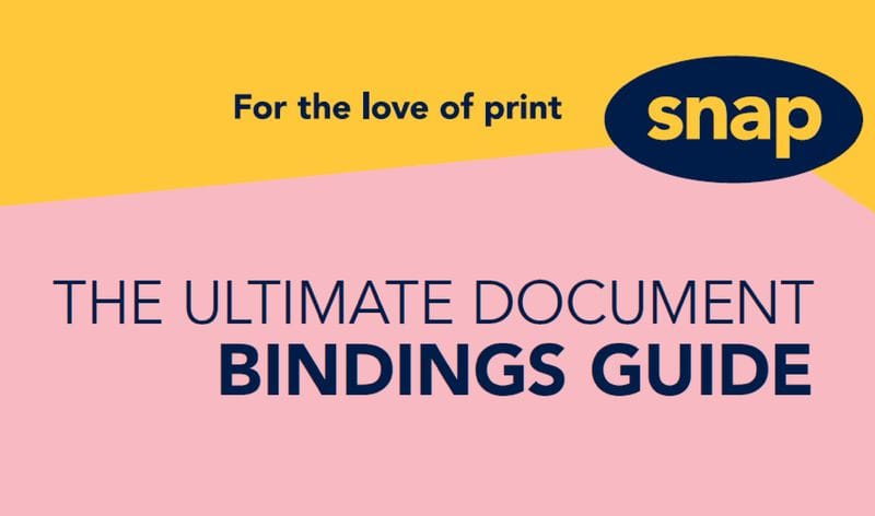 12 binding types to help you hold it together