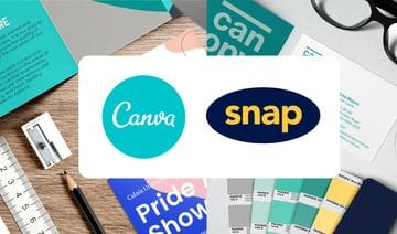Canva + Snap Print & Design Join Forces