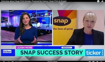 Ticker News Interview with Snap