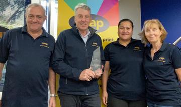 Rod Harrington from Snap Laverton North Wins Snap's Prestigious Murray Read-Smith Lifetime Achievement Award