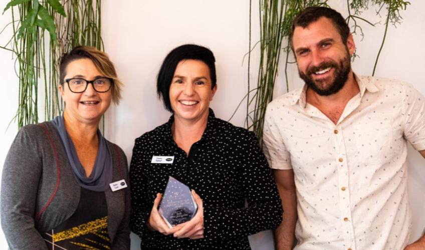 Snap Port Macquarie Win Snap's Commitment To Customer Service Award