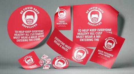 Messages, sizes and shapes to suit every application | Snap Print & Design
