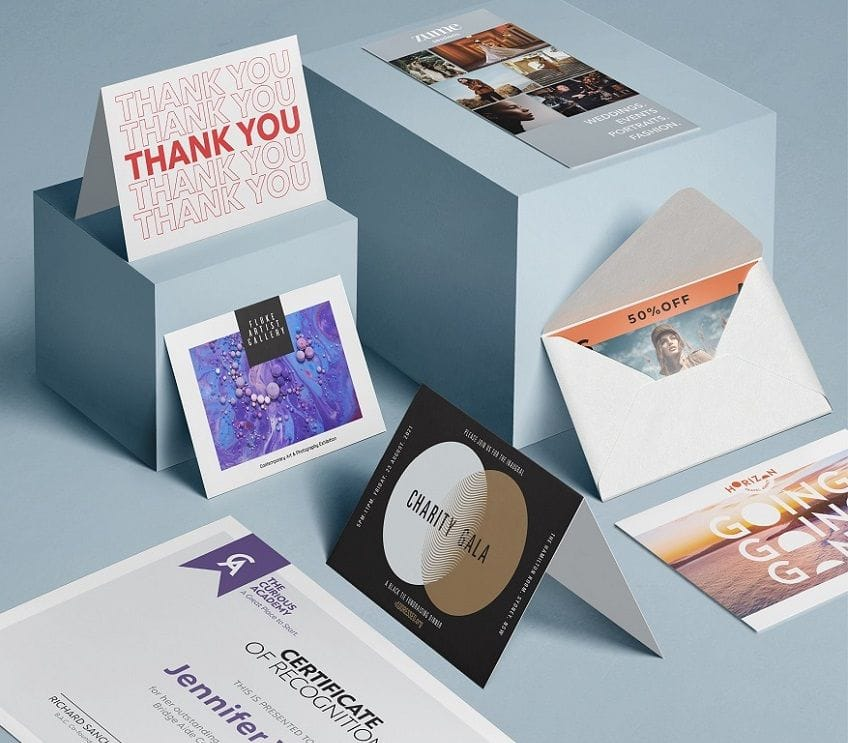 Postcards, Greeting Cards, Unfolded Cards, Folded Cards