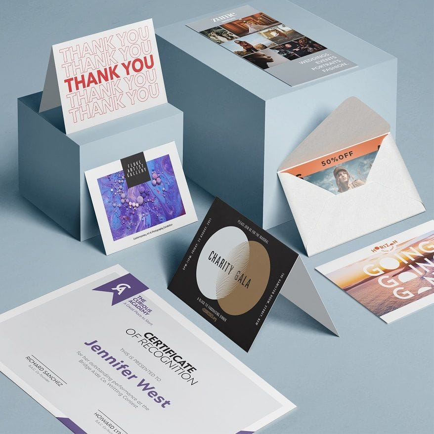 Design and Print Cards Online