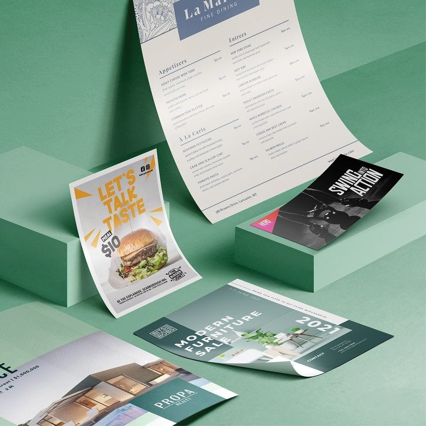Design and Print Flyers Online