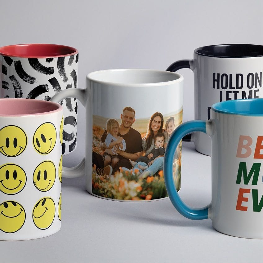 Persomalised mugs are great as personal and corporate gifts