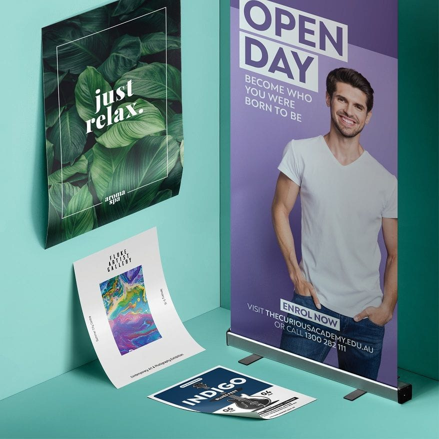 Print and Design Posters & Banners Online