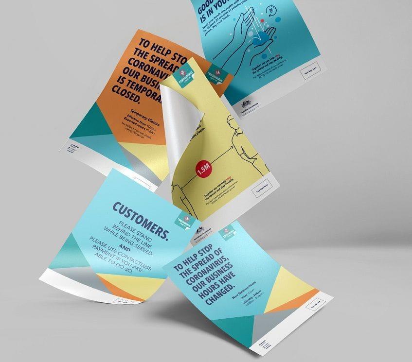 Poster printing and banner printing