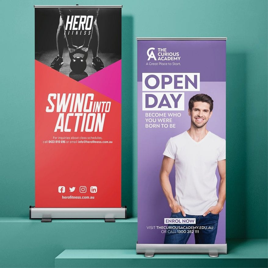 Design and Print Pull Up Banners
