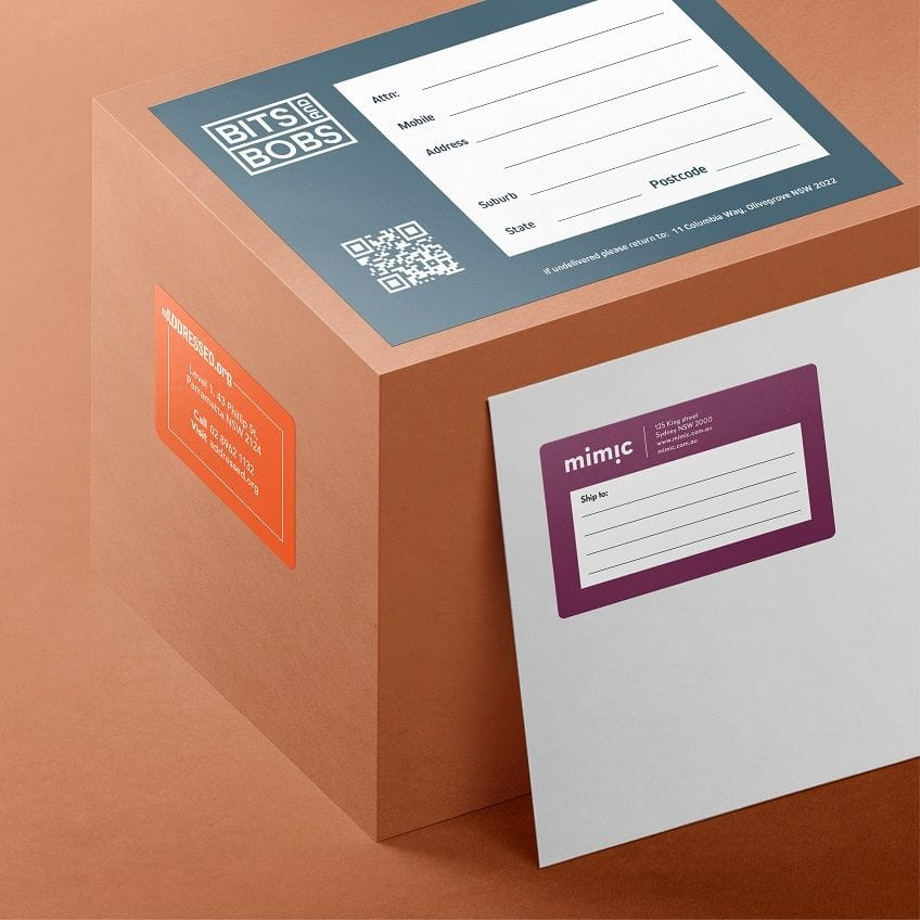 Print and Design Rectangle Stickers online
