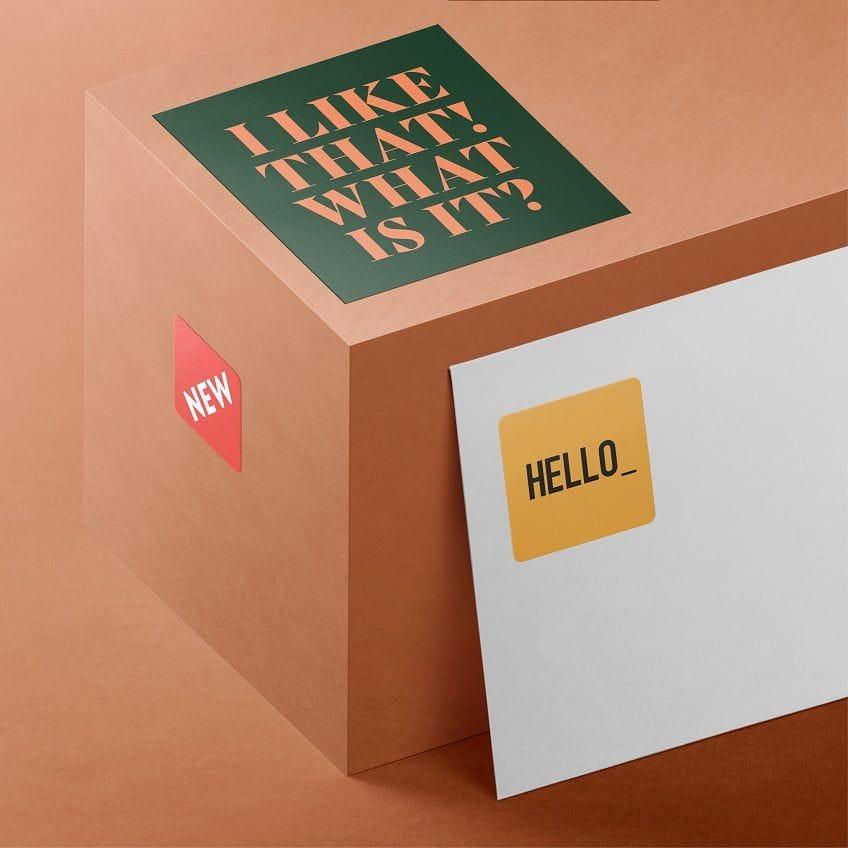 Print & Design Stickers & Labels online