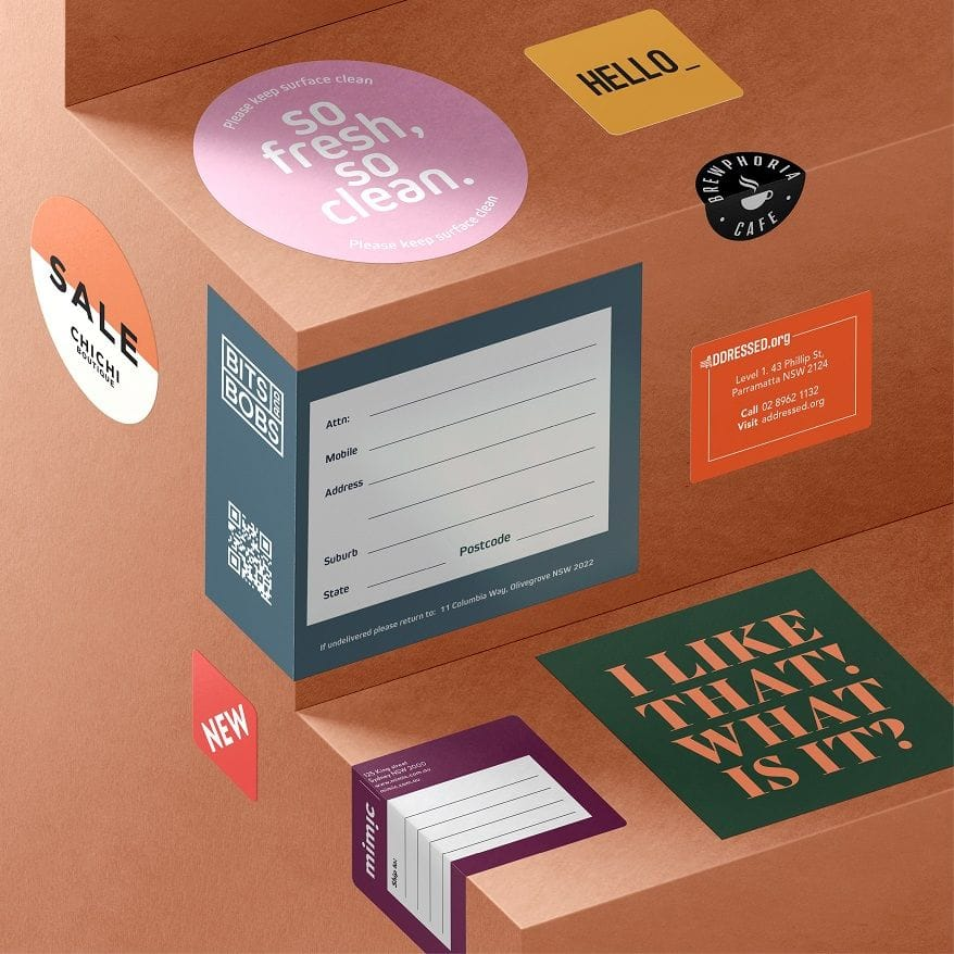 Design and Print Stickers & Labels Online
