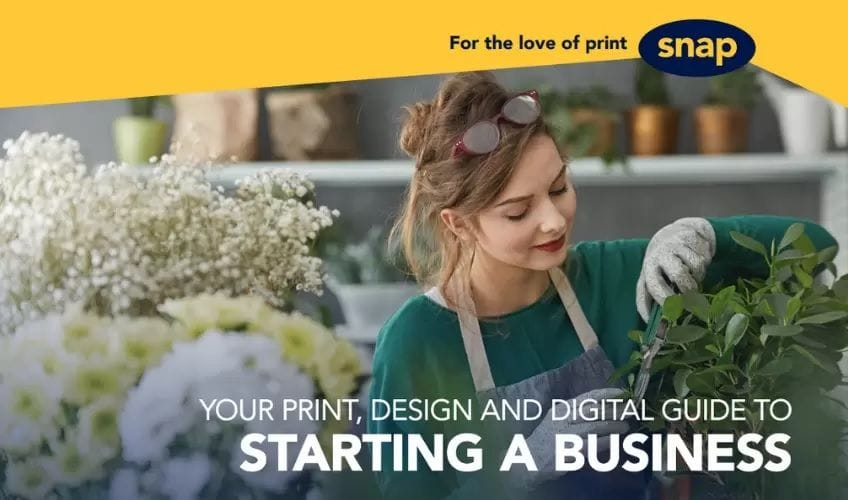 Print, Design and Digital Guide to Starting a Business