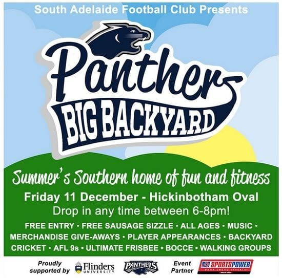 Introducing Community Initiative the Panthers Big Backyard