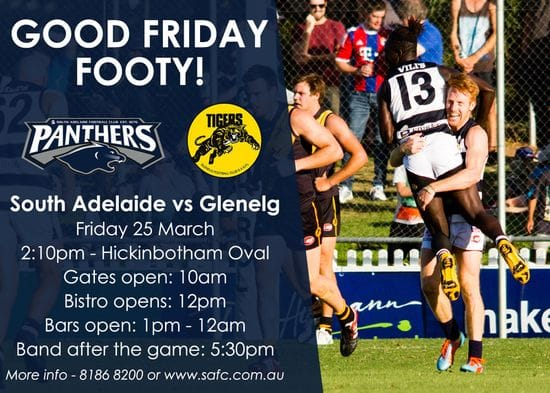 Good Friday Footy Returns to Noarlunga!
