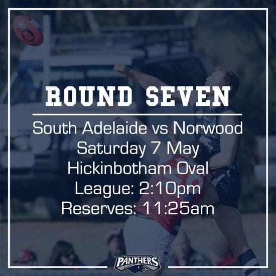 Round Seven: South vs Norwood - Teams