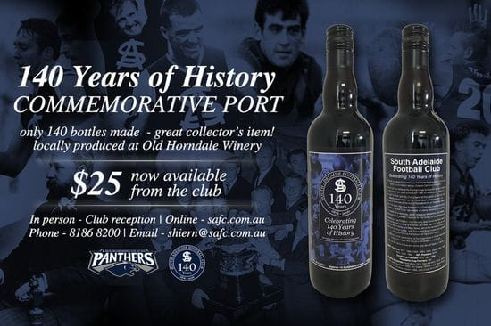 140 Year Commemorative Port - Only 140 Made!