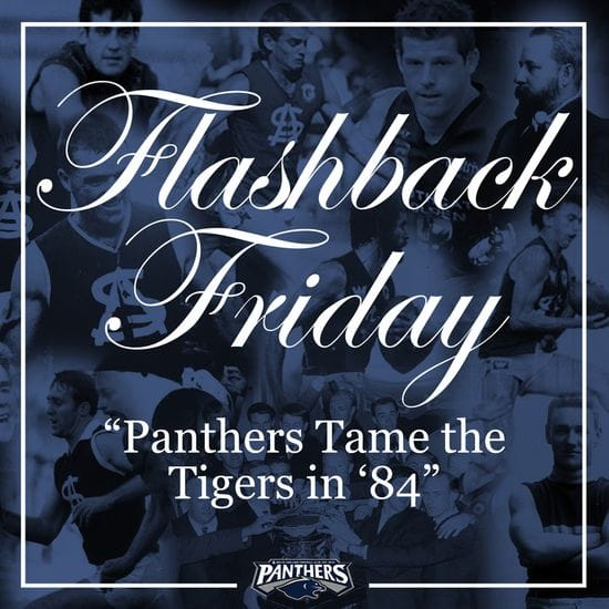Flashback Friday: Taming the Tigers in '84