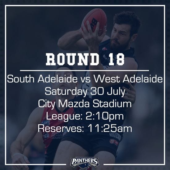 Round 18: South vs West - Teams