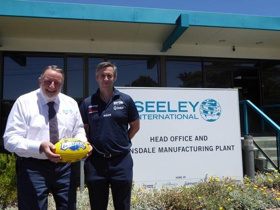 Seeley International Supports Junior Football