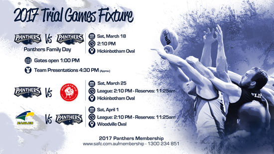 South Adelaide Reveal 2017 Trial Game Fixture