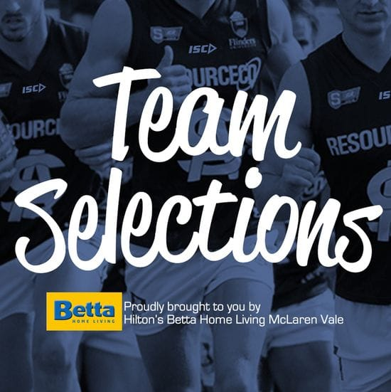 Betta Teams: Round 1 - South Adelaide vs West Adelaide
