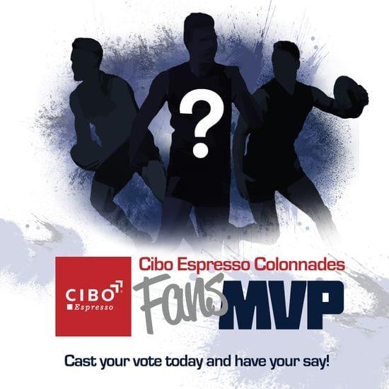 Cibo Espresso Colonnades Fans MVP - Running Leaderboard