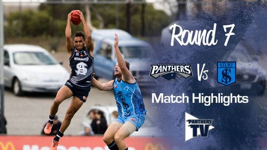 Panthers TV: South Vs Sturt Round 7 Highlights