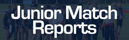 Juniors Report: Round 8 - South Adelaide vs Glenelg