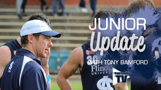 Panthers TV: Junior Update with Tony Bamford