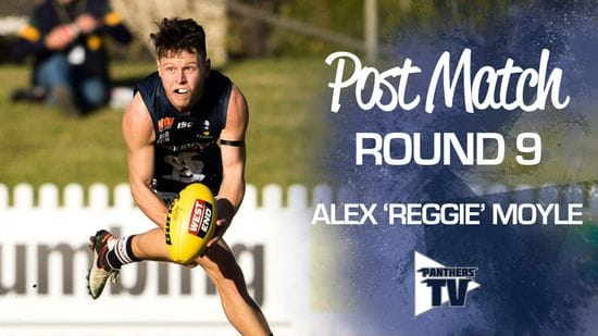 Panthers TV: Alex 'Reggie' Moyle - Post Match Round 9
