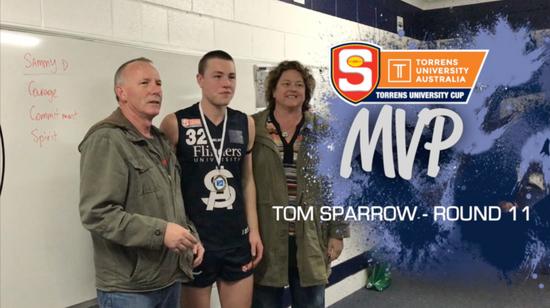 Panthers TV: Tom Sparrow Round 11 - 2017 SANFL U18 MVP