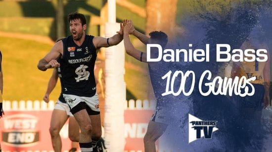 Panthers TV: Daniel Bass - 100 Games